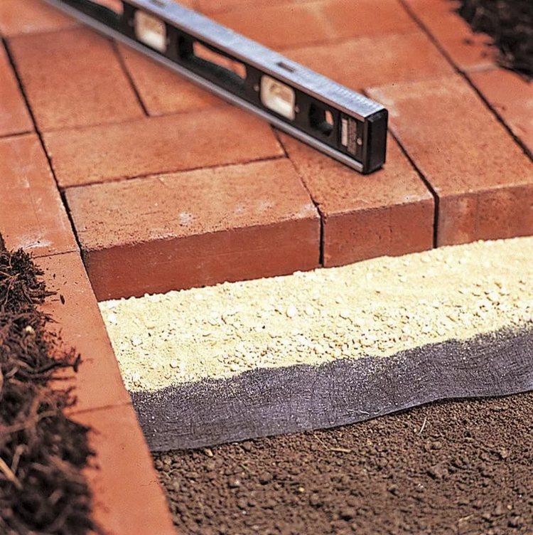 Тротуарная плитка своими руками с поэтапной технологией укладки